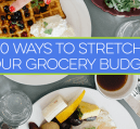 Need to make your money last for the month? Here are 10 ways to get more bang for your buck when it comes to groceries.