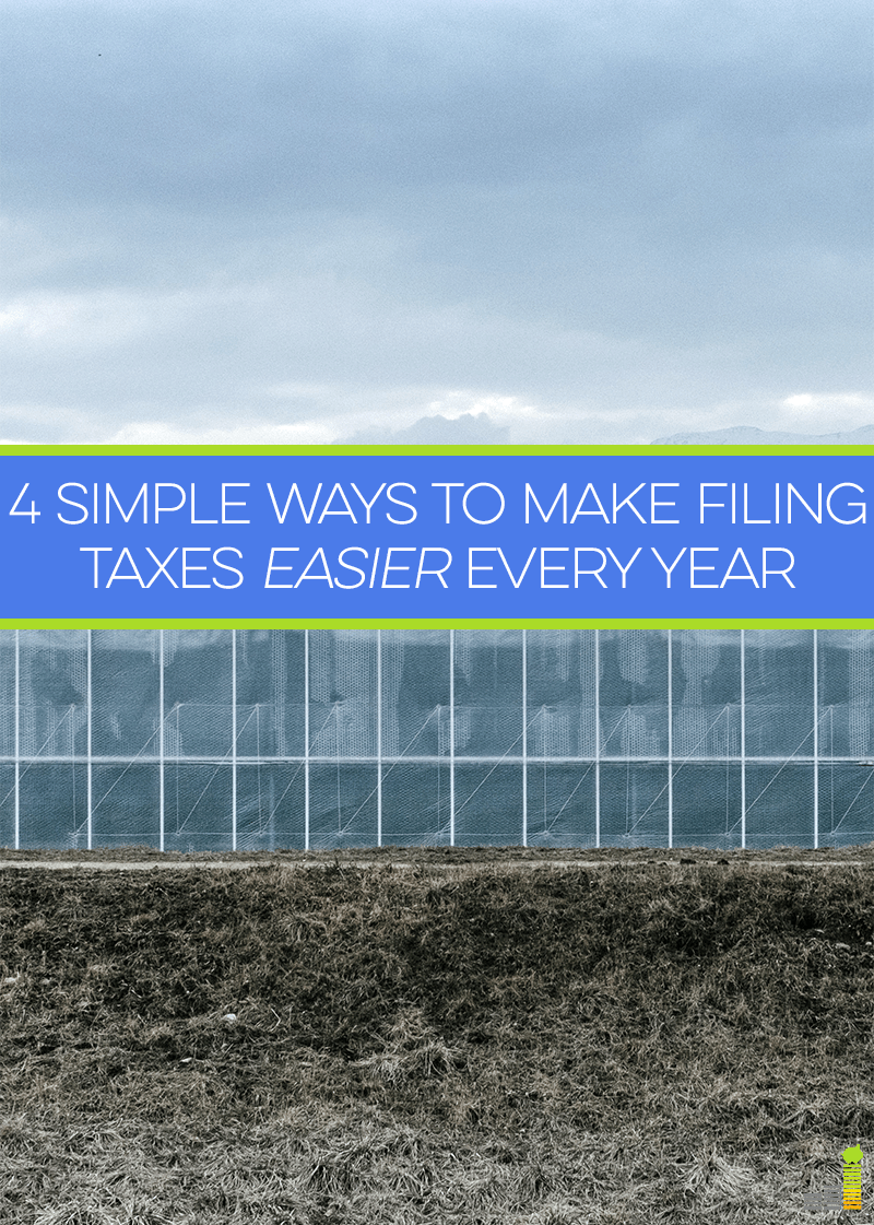 Filing taxes can be a painful experience for many. With a little planning and preparation you can remove much of the pain associated with tax season.