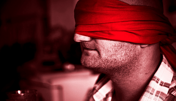 we just got blindfolded by the government