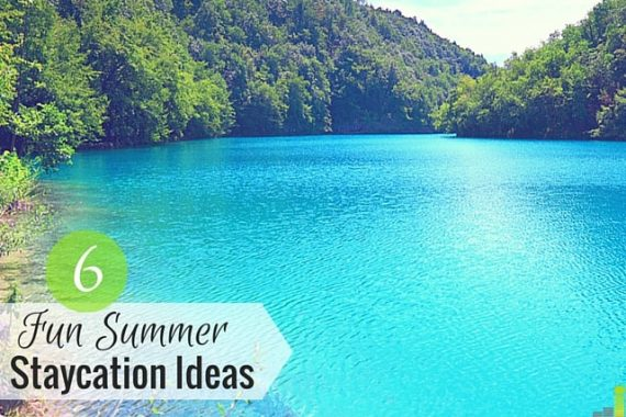 Staycation ideas don't have to play second fiddle to out of town trips. If lack of money is keeping you home, make the most of it with a staycation.