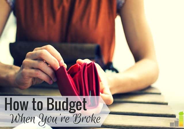 FI How to Budget When You're Broke