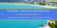 Would you go back to work after winning the lottery, or would you tell your boss what they could do with the job? How much would it take for you to quit?