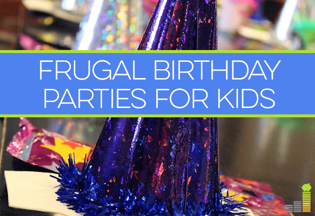 Wondering how to throw birthday parties for your kids on a budget? Here are some ideas!