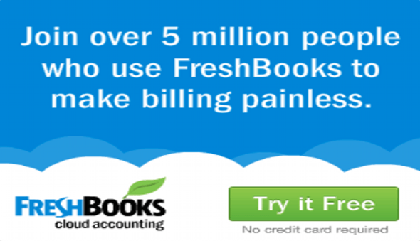 Accounting Software  Freshbooks Coupon Entry April 2020