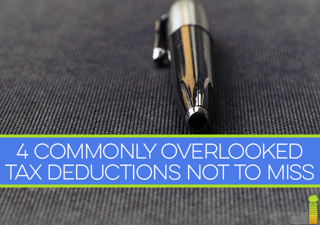 When you're filing your taxes, you don't want to miss these 4 commonly overlooked tax deductions.