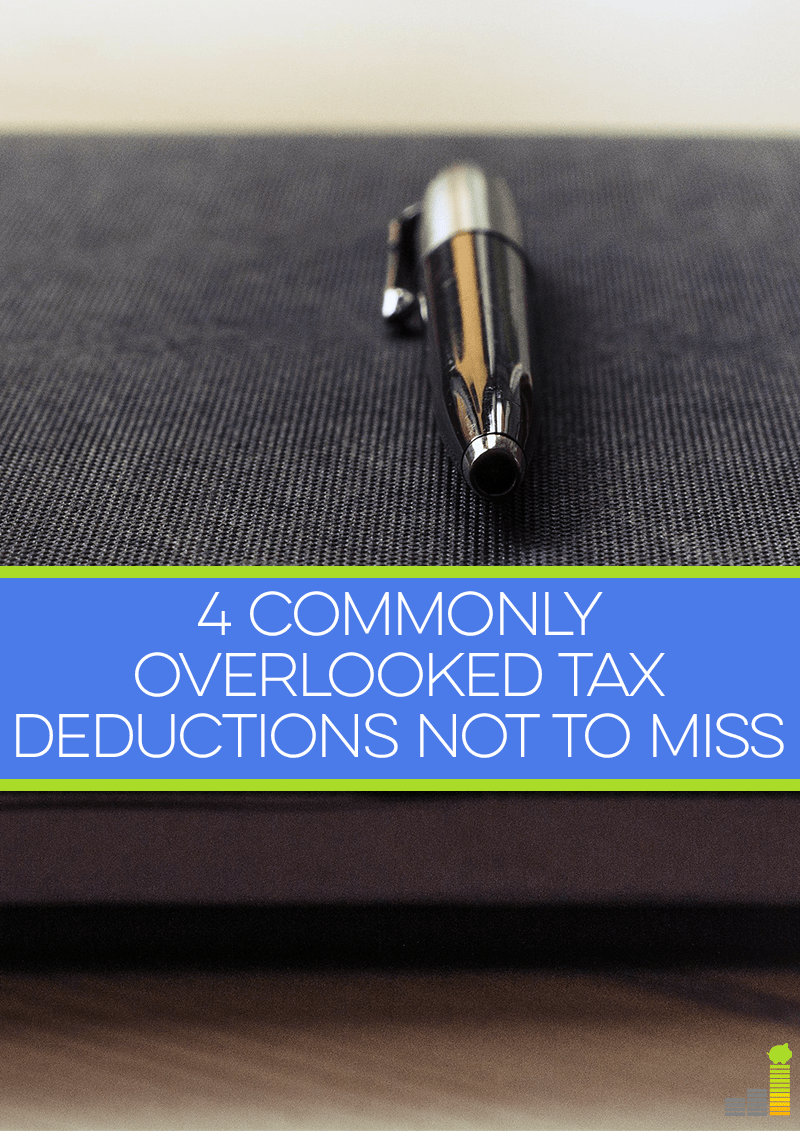 Don't miss these 4 commonly overlooked tax deductions you might be able to take!