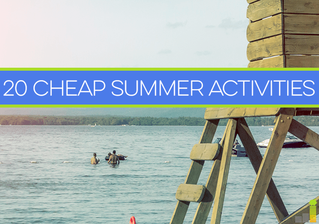 Looking for cheap summer activities for you or your family? Here are twenty fun and different ways to have some great summer fun that's easy on the wallet.