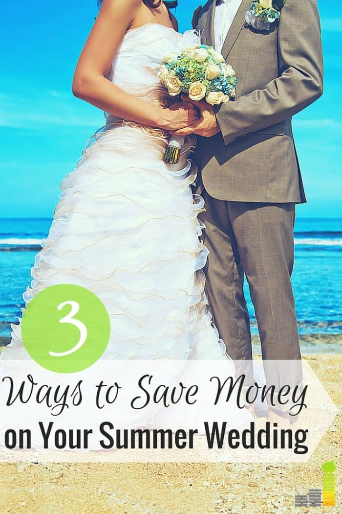 Trying to save money on your summer wedding is a challenge, but not an impossible task if you are willing to be a little flexible in the timing and details.