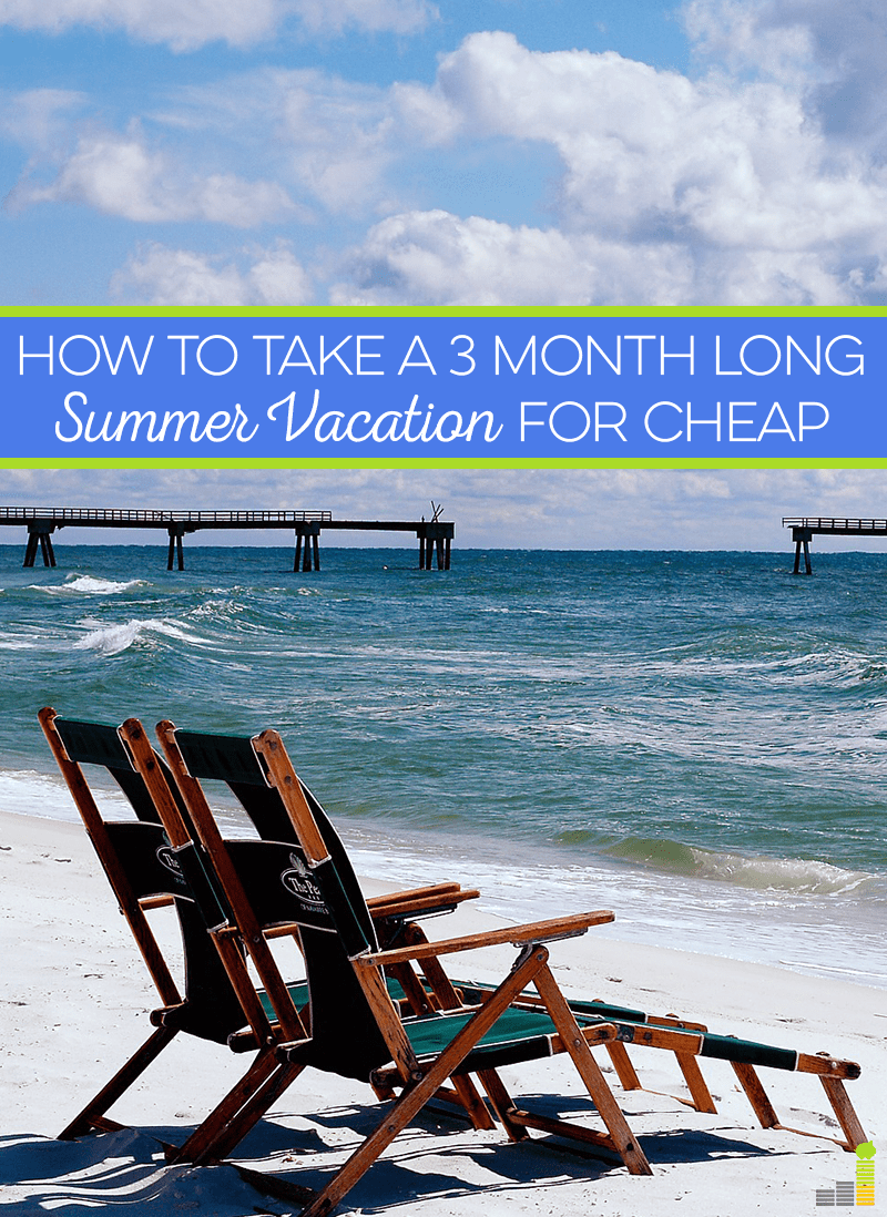 """Do 'three-month summer vacation"""" and """"cheap"""" belong in the same sentence? Find out how to have a really fun summer vacation or even staycation on a budget."""