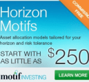 Motif investing promotion
