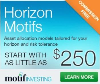 Motif investing promotion