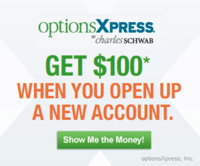 OptionsXpress Deals & Coupons optionsXpress Holdings, Inc., a pioneer in equity options trading for the retail investor, provides innovative online brokerage services for investor education, strategy evaluation and trade execution.