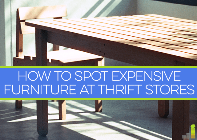 How To Spot Expensive Furniture At Thrift Stores Frugal Rules