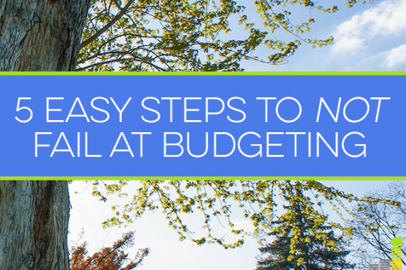 Do you struggle with maintaining a budget? Here are 5 steps that will help you succeed.
