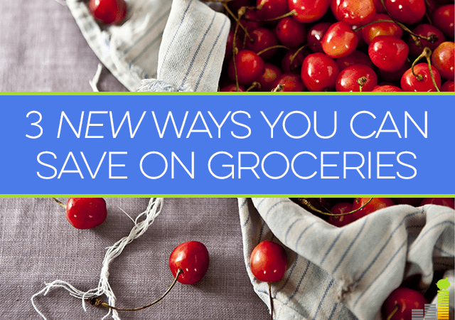 Groceries are often people's biggest budget buster. Here are 3 new ways to save on food!