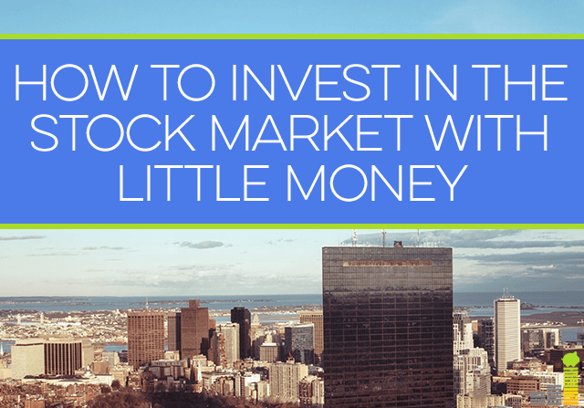Want to invest in the stock market, but don't have a lot of money to put in? You can still invest! Here's how.