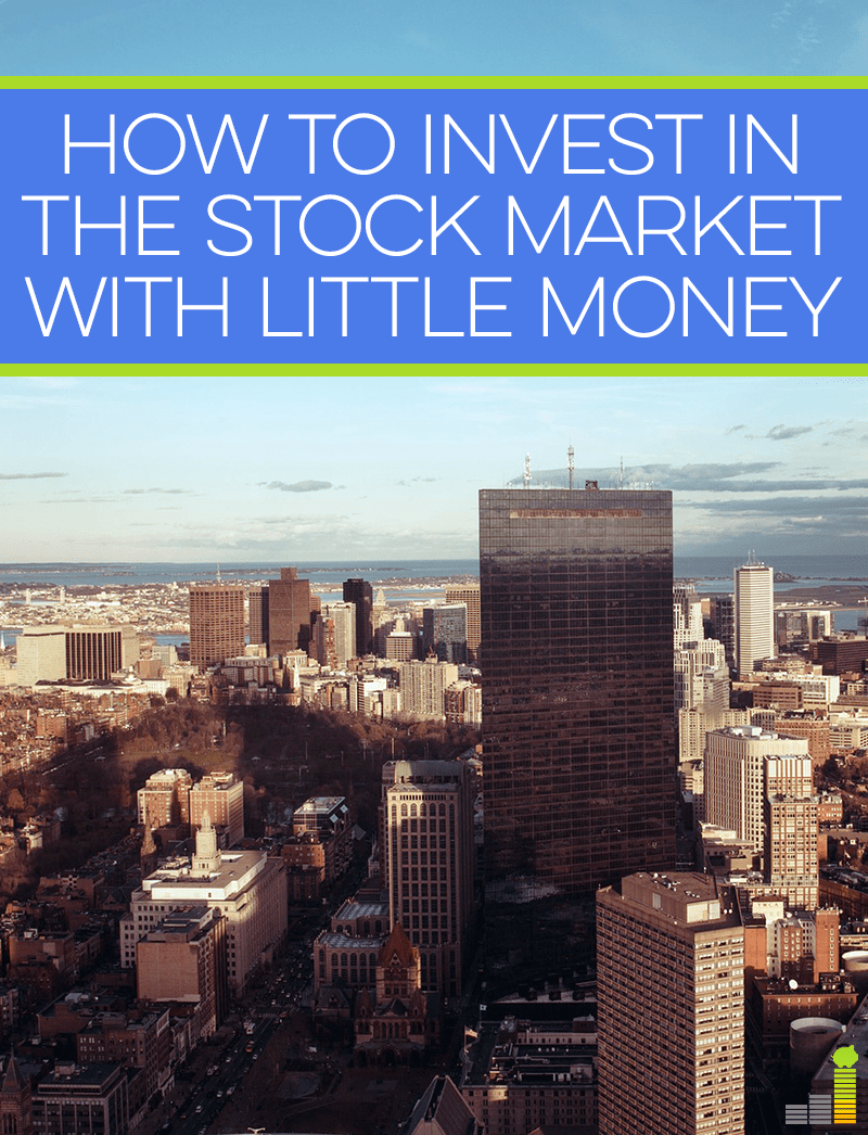 Don't have a lot of money to invest in the stock market? That's okay - here's how you can invest with just a little money!