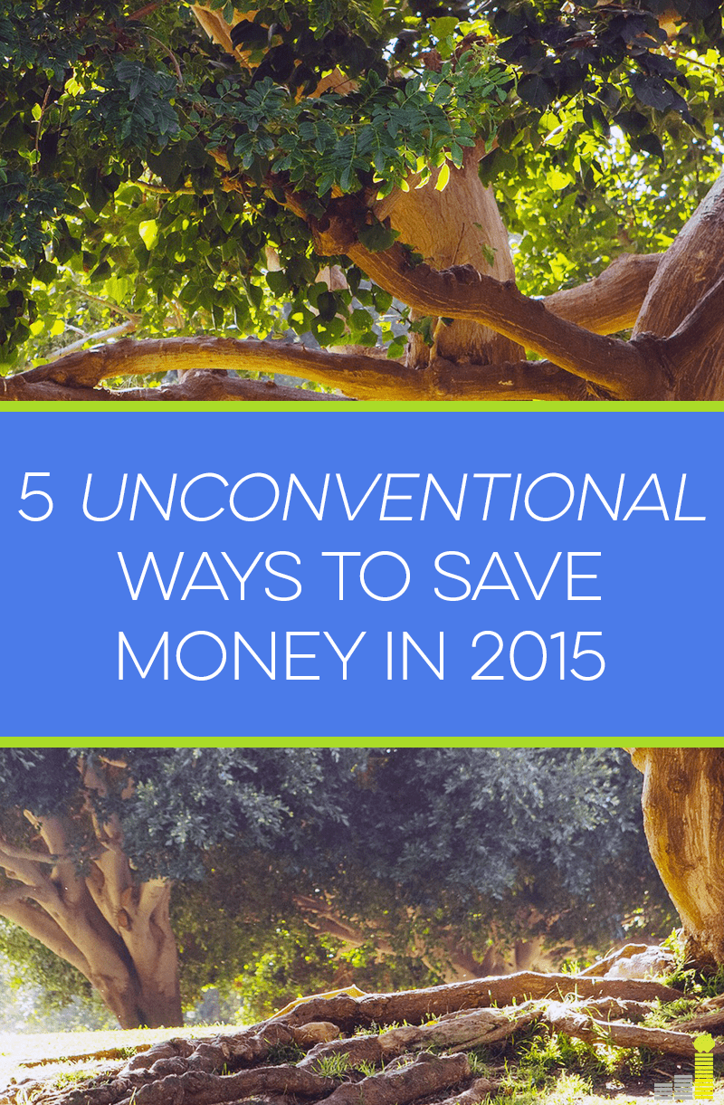 Want to increase your savings this year? Try these 5 unconventional ways to save money in 2015.