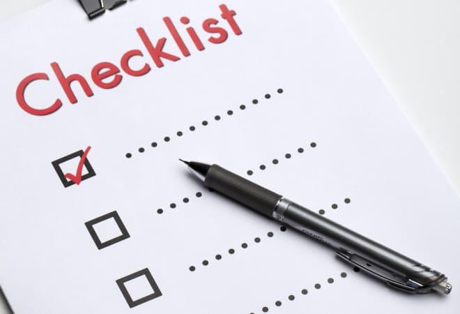 2015 Financial Checklist