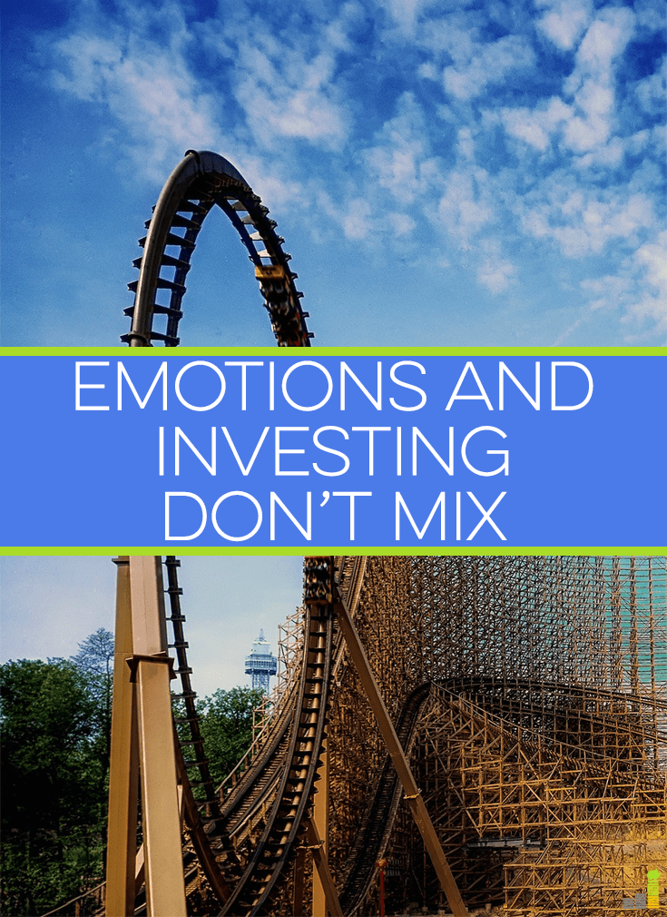 Emotions and investing seem like they go together when they really don't. It's a long-term investment approach which serves best in growing wealth.
