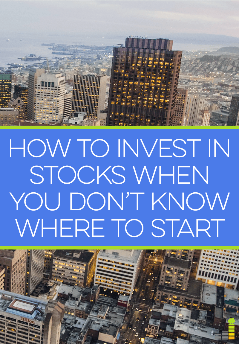 Unsure of how to invest in stocks? Get started with these simple steps.