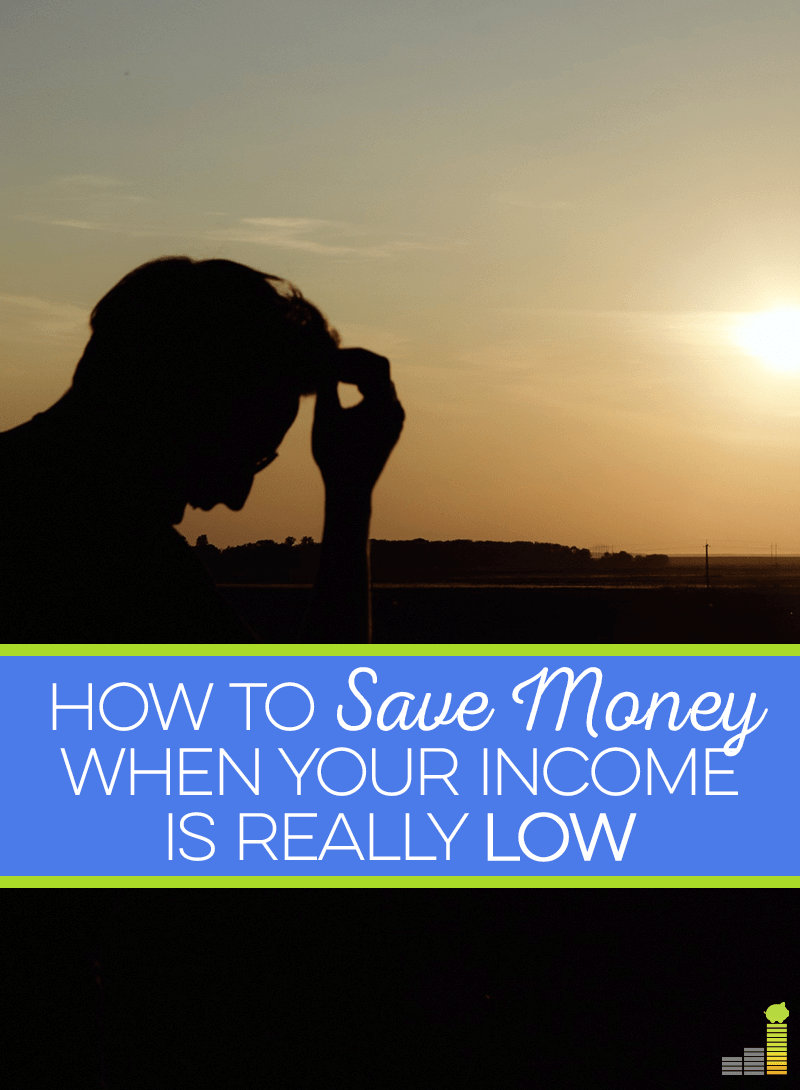 Don't think you can afford to save money because of your income? Here are 3 ways you can save despite the amount of money you have coming in.