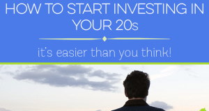 The earlier you start to invest, the better. Here's how to start investing in your 20s.