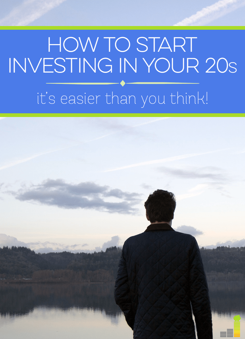 Investing in your 20s is easier than you think! Here's how to get started in a few simple steps.