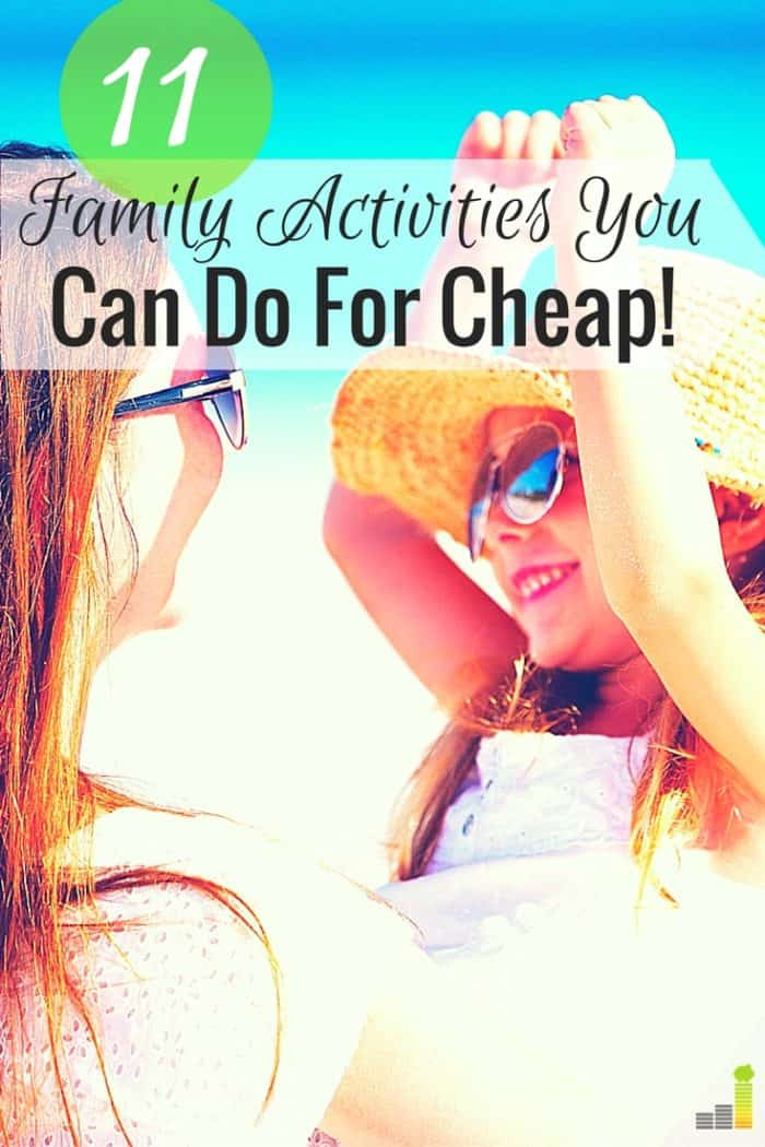 If your budget has been tight, but you still want to have fun with the kids, then try these 11 awesome frugal family activities!