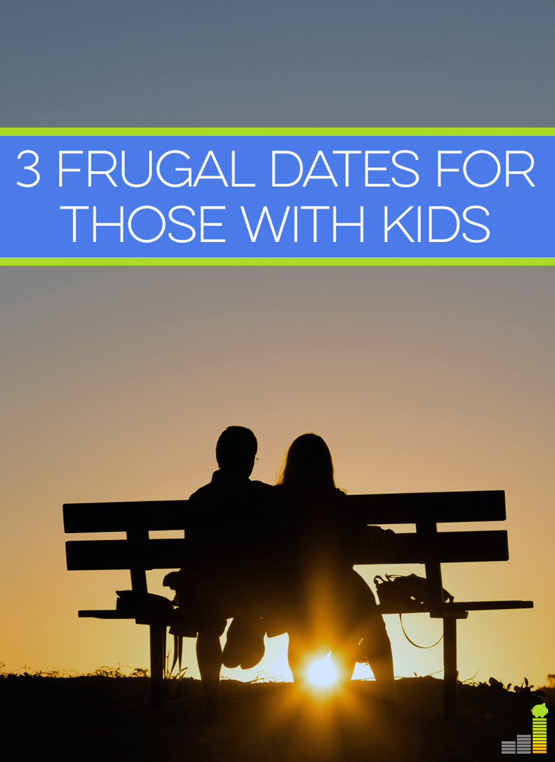 Frugal dates are essential when you have kids - after all, you most likely already have to pay for a babysitter. Here are 3 ideas on how to have a frugal date!