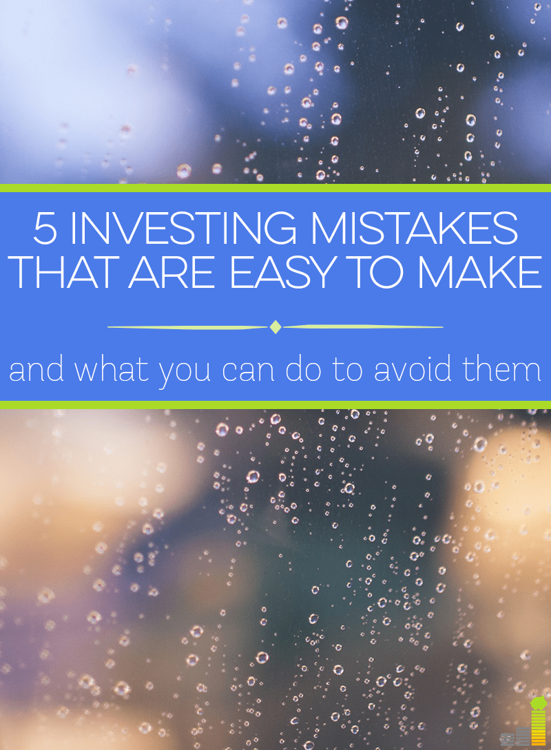 Learn what the 5 most common investing mistakes are and what actions you can take to avoid them.