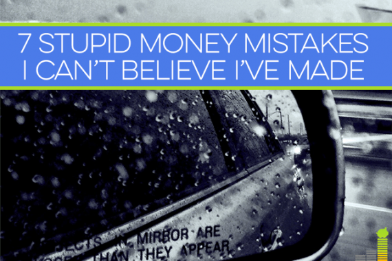 We're all guilty of stupid money mistakes, some worse than others. I share some of my dumb money mistakes from the past and what I've learned from them.