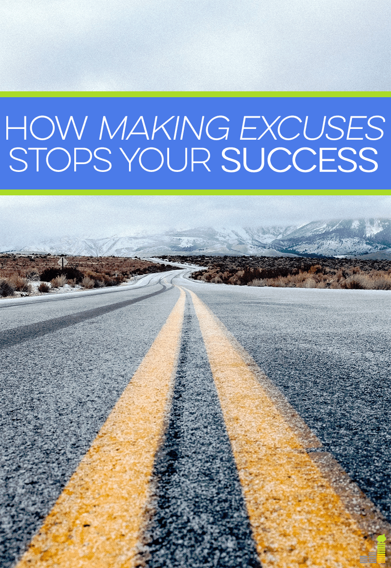 Making excuses can save you from failure, but they can also prevent you from succeeding. The excuses we make can hold us back a lot in life. Here's why.