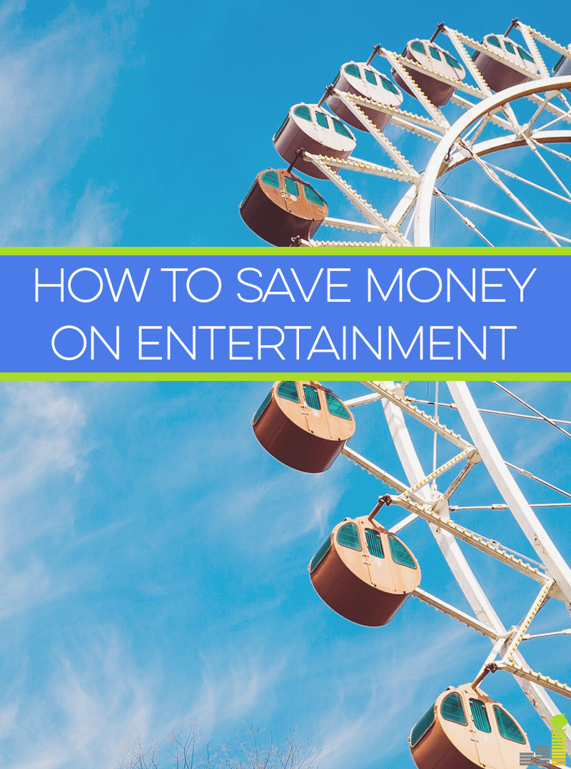 5 ideas on how to save money on entertainment and still enjoy yourself!