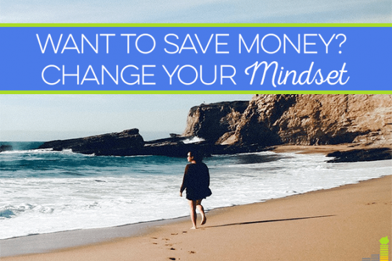 If you're struggling to save money, you might need to change your financial mindset and beliefs. Here's how to crack down on bad spending habits painlessly.