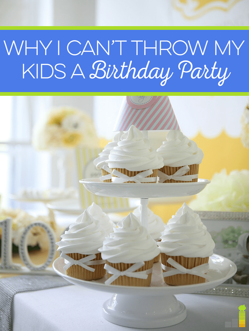 Birthday parties for kids have gotten so out of hand these days. If people are celebrating first birthdays with ponies, what is their 16th birthday going to look like?