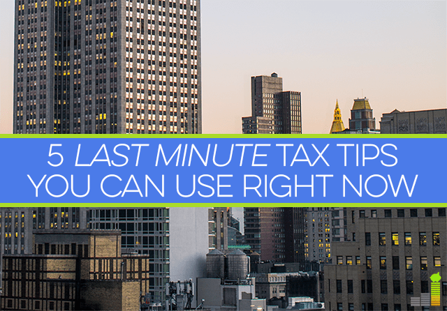 Last minute tax tips can be helpful when you're up against the tax deadline. Here are 5 actionable tax tips you can use right now to make tax time smoother.