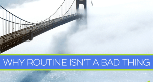 Routine rocks. It can save you money and help you keep your spending in check. But what do you do when travel or other circumstances knock out your routine?
