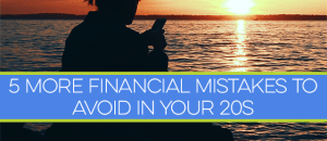 There are many financial mistakes to avoid in your 20s. The problem is, most people don't realize what they are. Learn from someone who's been there!