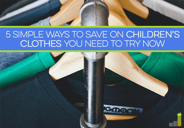Children's clothes can be very expensive, but they don't have to be. Follow these 5 tips to spend less!