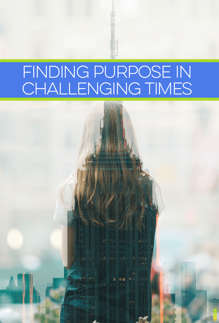 Finding purpose in challenging situations can make them a little easier to endure, especially when that challenge involves drastically cutting expenses.