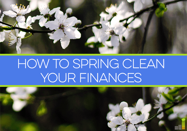 Want to clean up your finances and get back on the right track? You can spring clean your finances in 3 easy steps!