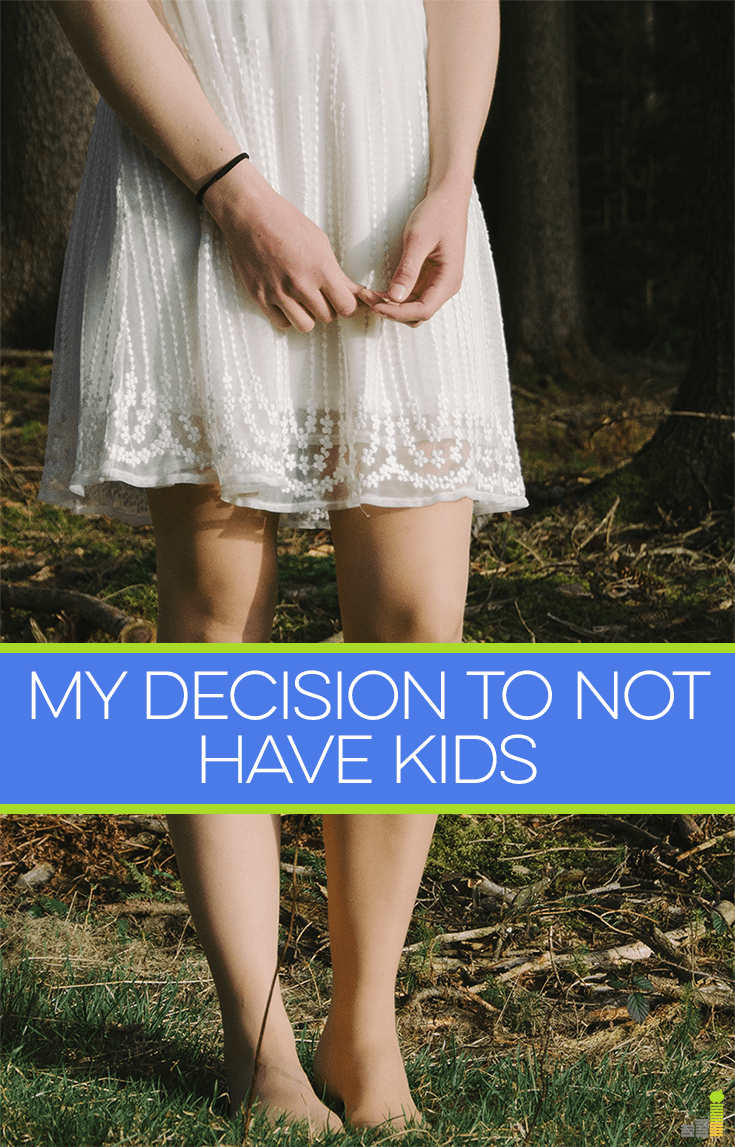 Believe it or not, the decision to not have kids doesn't always focus exclusively around the money factor. Having freedom plays a large part, too.