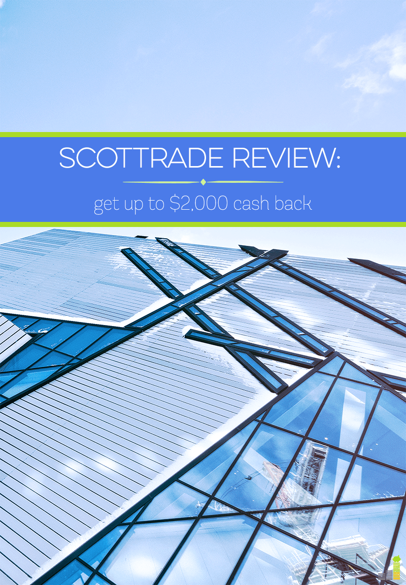 This Scottrade review goes over my experience using their platform. Learn about how you can get up to $2,000 cash back with a new Scottrade account today!