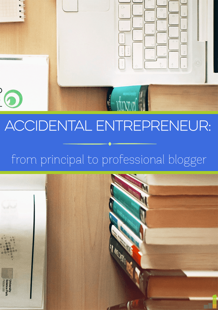 Professional blogger Brain Fourman never intended to start a blog. In fact, he spent most of his career as a high school principal. Read his story here.