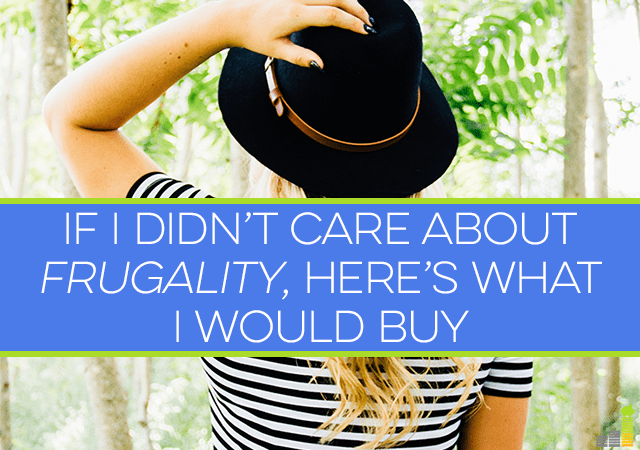 Frugality is a bit of a love hate thing for me. I have to do it to stay on track with my budget but it often means saying no to ordinary things I want.