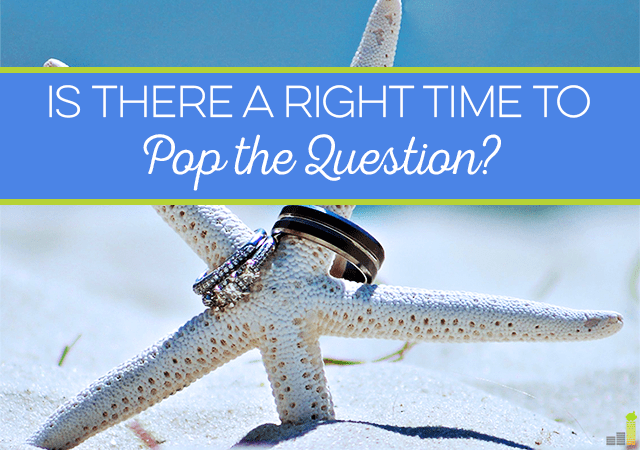 Is there ever a right time to pop the question, especially where finances are concerned? It largely depends on your situation - here's what to consider.