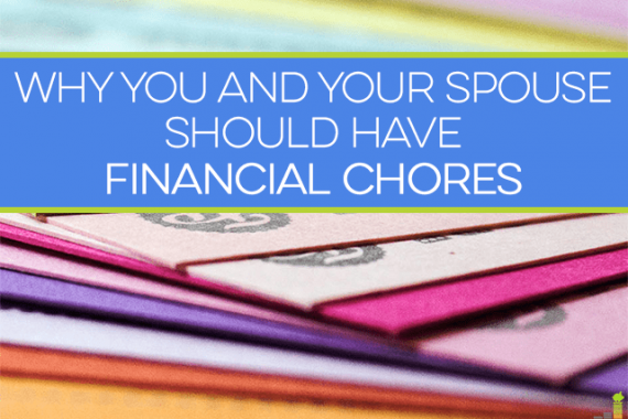 Financial chores aren't just for kids. Couples who have them work together better and manage their budget in a way that benefits the entire family.