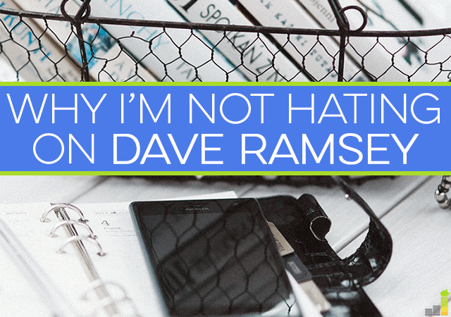 Dave Ramsey is not just well known; he's much disliked by many. I've got nothing but respect for the man, so here's why I'm not hating on Dave Ramsey.