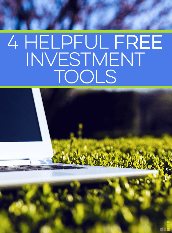 There are many free investment tools available on the internet. Knowing where to look is half the battle. Use some of these to increase your knowledge.